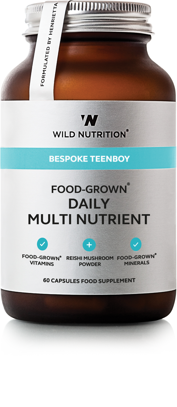 WILD NUTRITION Teenboy Food-Grown® Daily Multi Nutrient