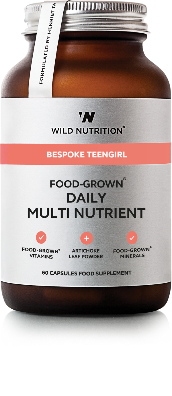 WILD NUTRITION Teengirl Food-Grown® Daily Multi Nutrient