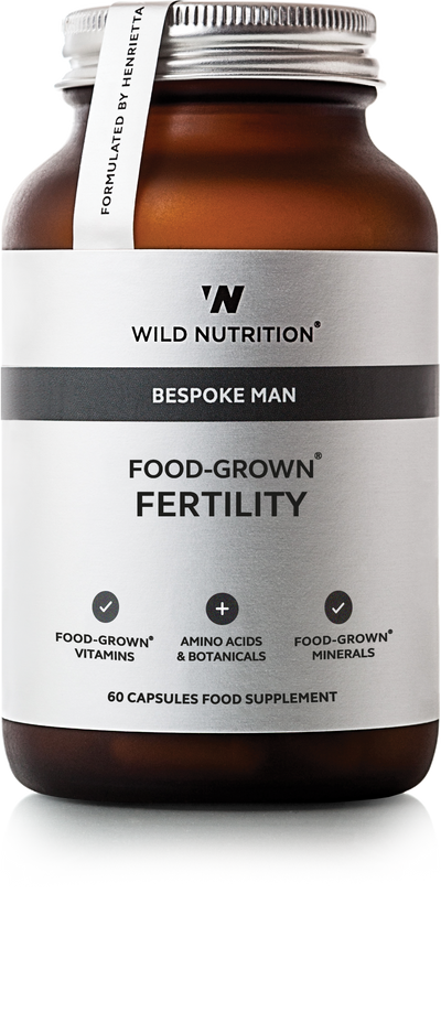 WILD NUTRITION Men's Food-Grown® Fertility