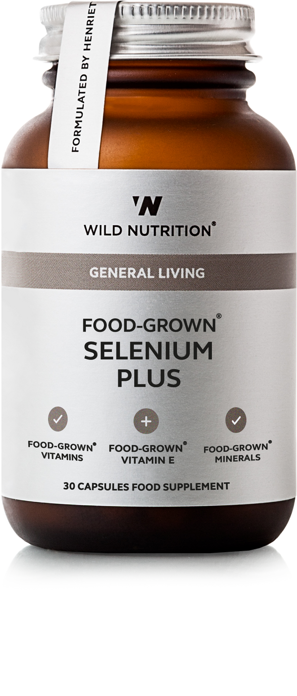 WILD NUTRITION Food-Grown® Selenium Plus