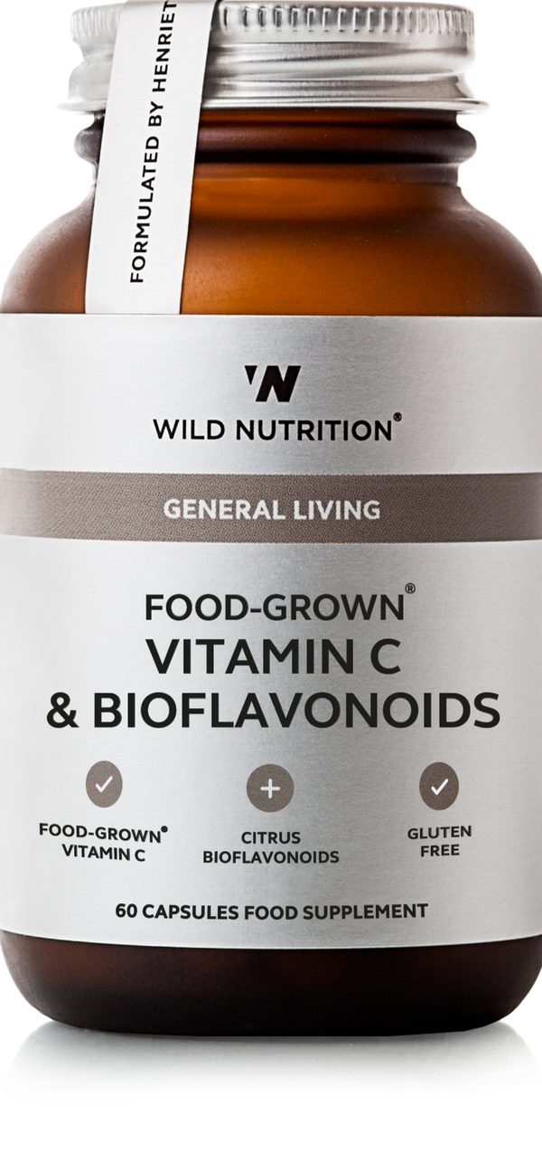 WILD NUTRITION Food-Grown® Vitamin C & Bioflavonoids