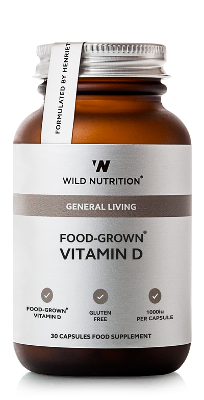 WILD NUTRITION Food-Grown® Vitamin D