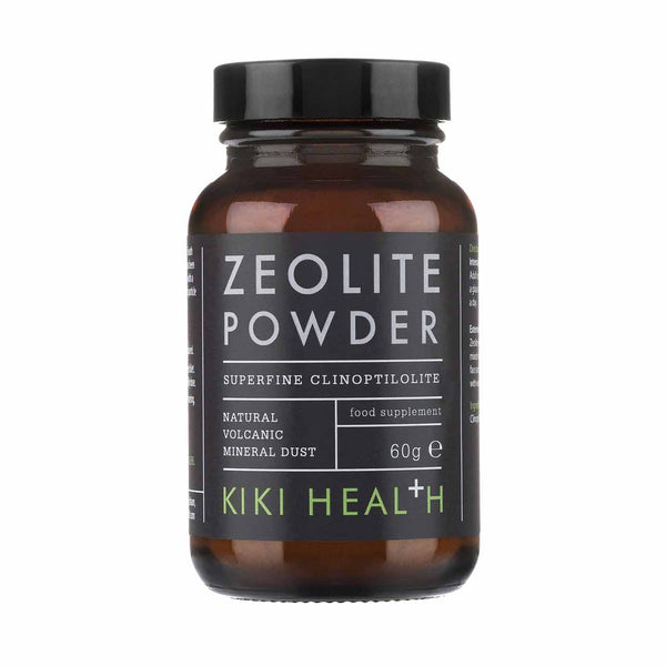 KIKI HEALTH Zeolite & Charcoal Powder