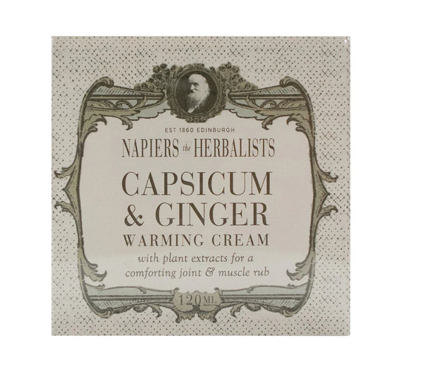 NAPIERS THE HERBALIST Capsicum & Ginger Cream