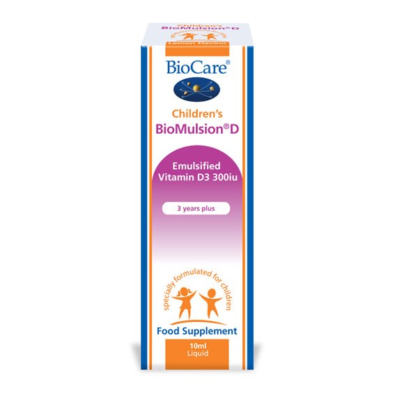 BIOCARE Children's Biomulsion® D (Liquid Vitamin D)