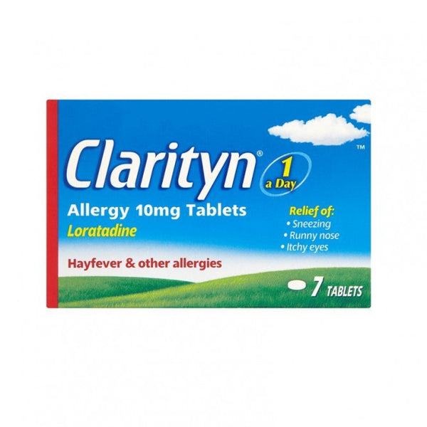 CLARITYN Allergy Tablets Loratadine 10mg