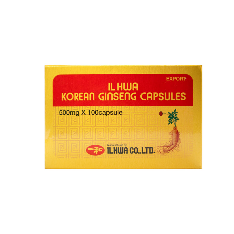 IL HWA Korean Ginseng Capsules 500mg
