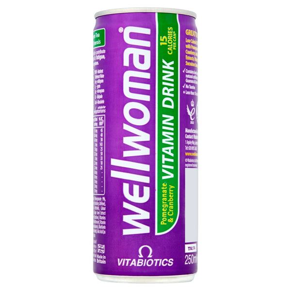 VITABIOTICS Wellwoman Pomegranate & Cranberry Vitamin Drink