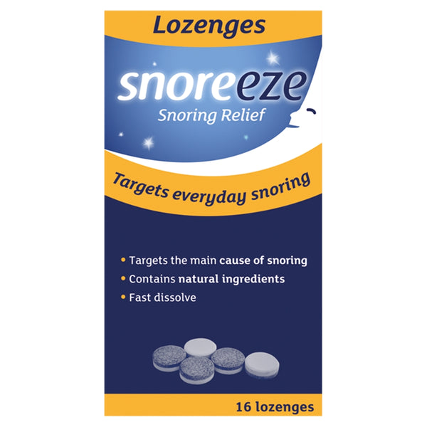 SNOREEZE Dual Action Snoring Relief Lozenges