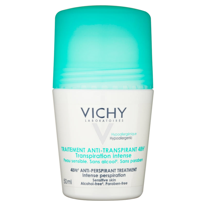 VICHY 48Hr Anti-Perspirant Treatment Deodorant Roll On