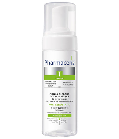 PHARMACERIS T Purisebostatic Foam Cleanser