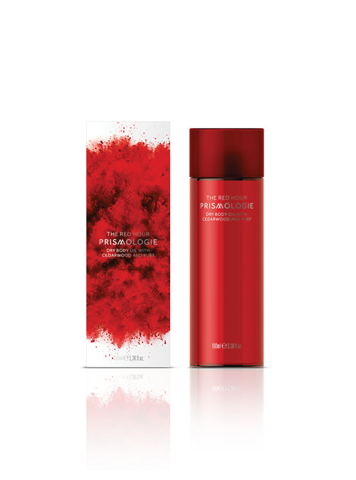 PRISMOLOGIE Ruby & Cedarwood Dry Body Oil