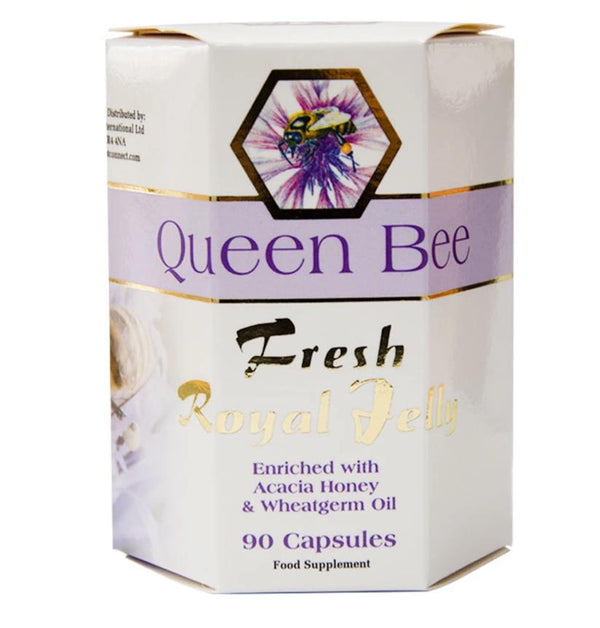 QUEEN BEE Pure Fresh Royal Jelly Capsules