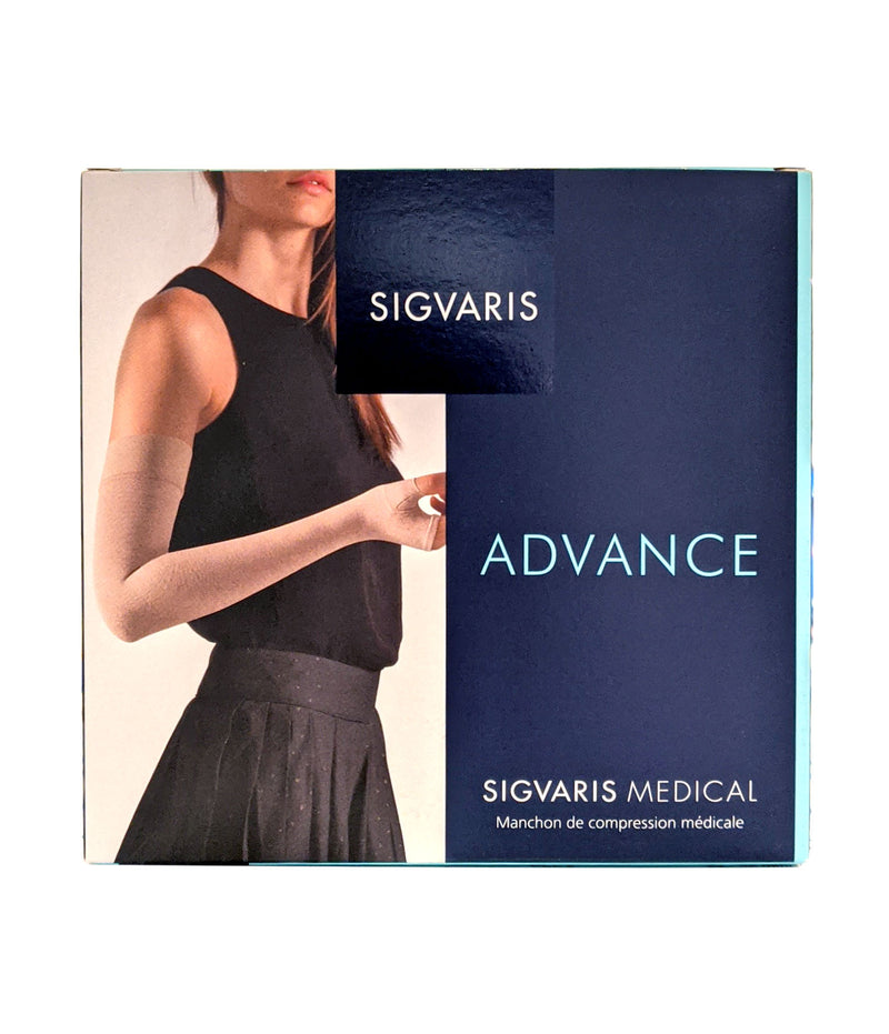SIGVARIS Advance 2 Arm Sleeve With Gt & Mitt Normal Natural