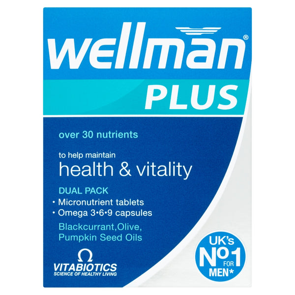 VITABIOTICS Wellman Plus Dual