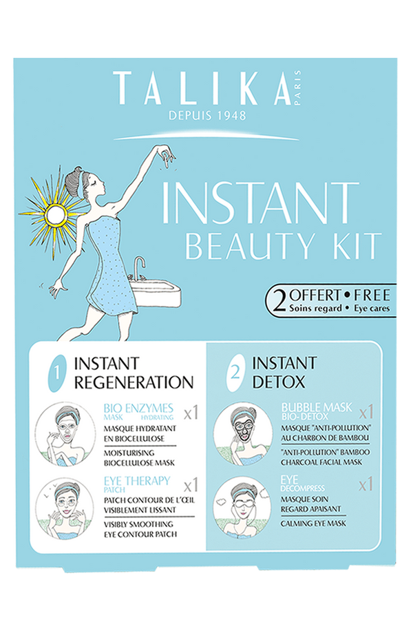 TALIKA Instant Beauty Kit - Regeneration And Detox Beauty Essentials To Radiate Instantly