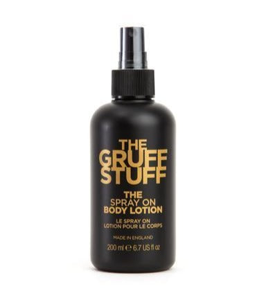 THE GRUFF STUFF The Spray On Body Lotion