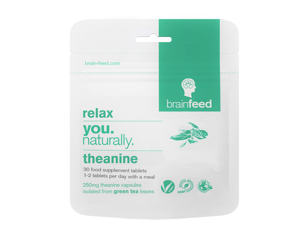 BRAIN FEED Theanine Tablets