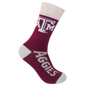Licensed Texas A&M socks