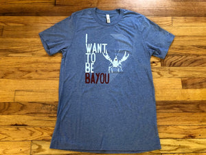 Bayou crawfish  T-shirts New Orleans