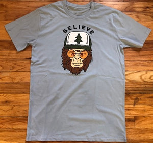 Believe Yeti T-shirts
