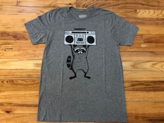 Boombox racoon T-shirts