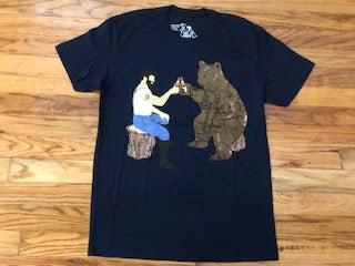 Having bear shirts