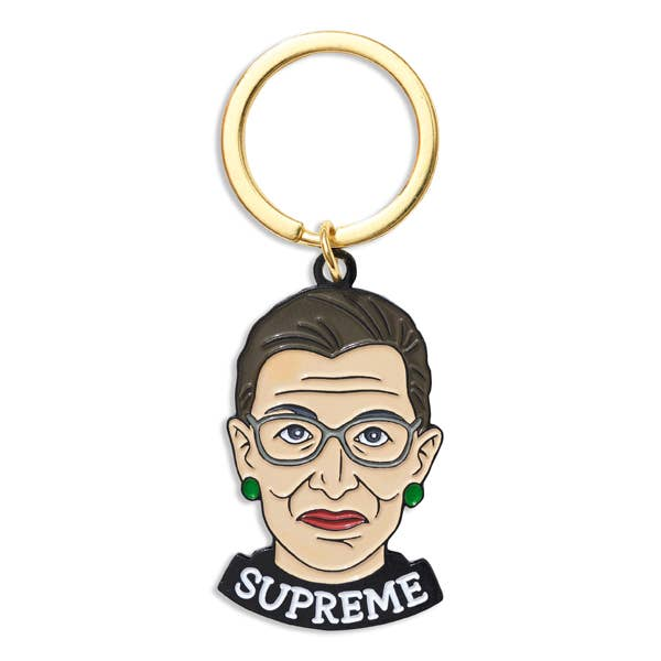 RBG Supreme key chain