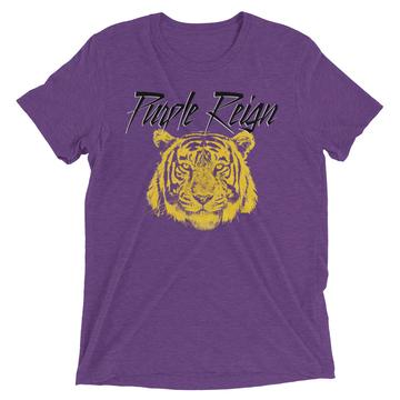 LSU tiger Purple rain T-shirts