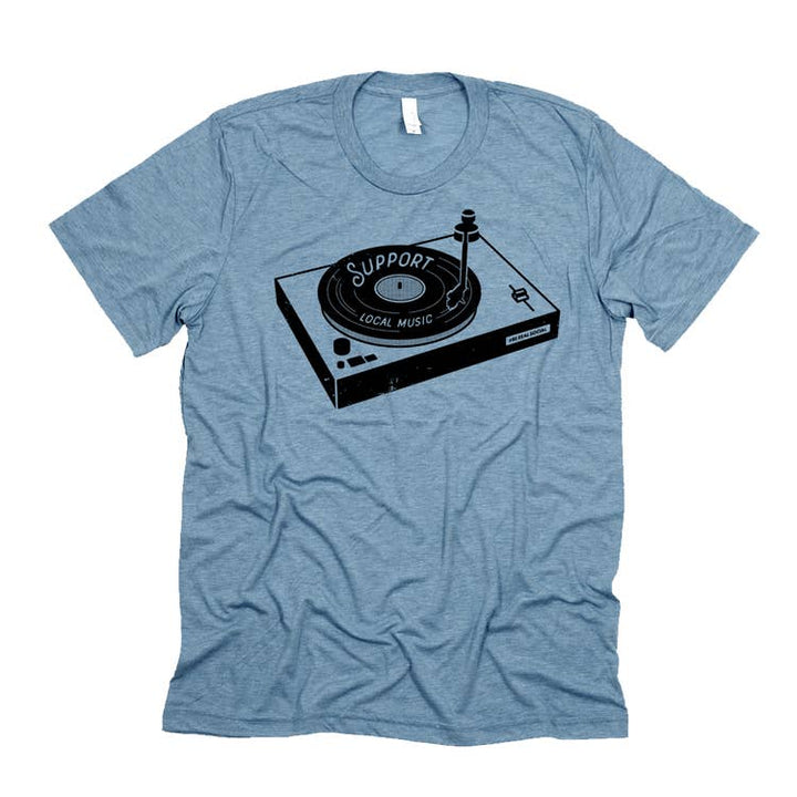 Support local music T-shirts