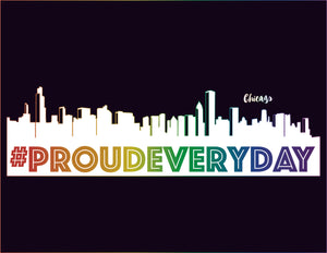 #proudeveryday all gender t