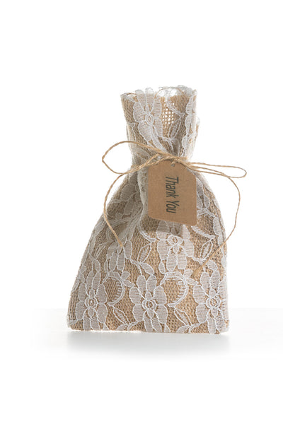 0054 Hessian USB Bags - Little Love Boxes