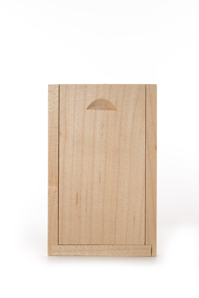 5001 Rectangle Wooden USB box (Light) - Little Love Boxes