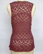 Load image into Gallery viewer, Knit Silk Lace Top