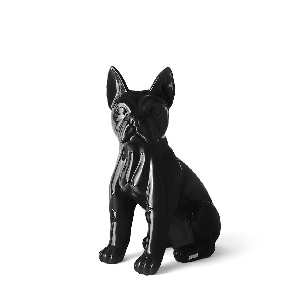 TheWildWild Deco Glossy Frenchie, Black