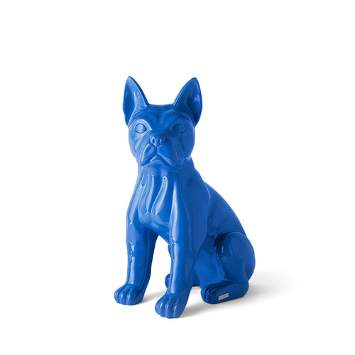 TheWildWild Deco Glossy Frenchie, Royal Blue