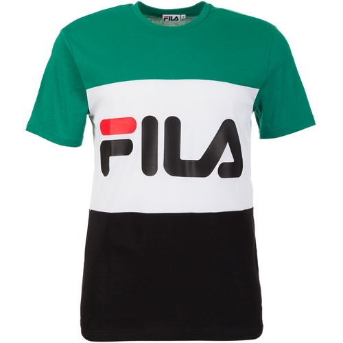 Fila Day Tee Green White Black