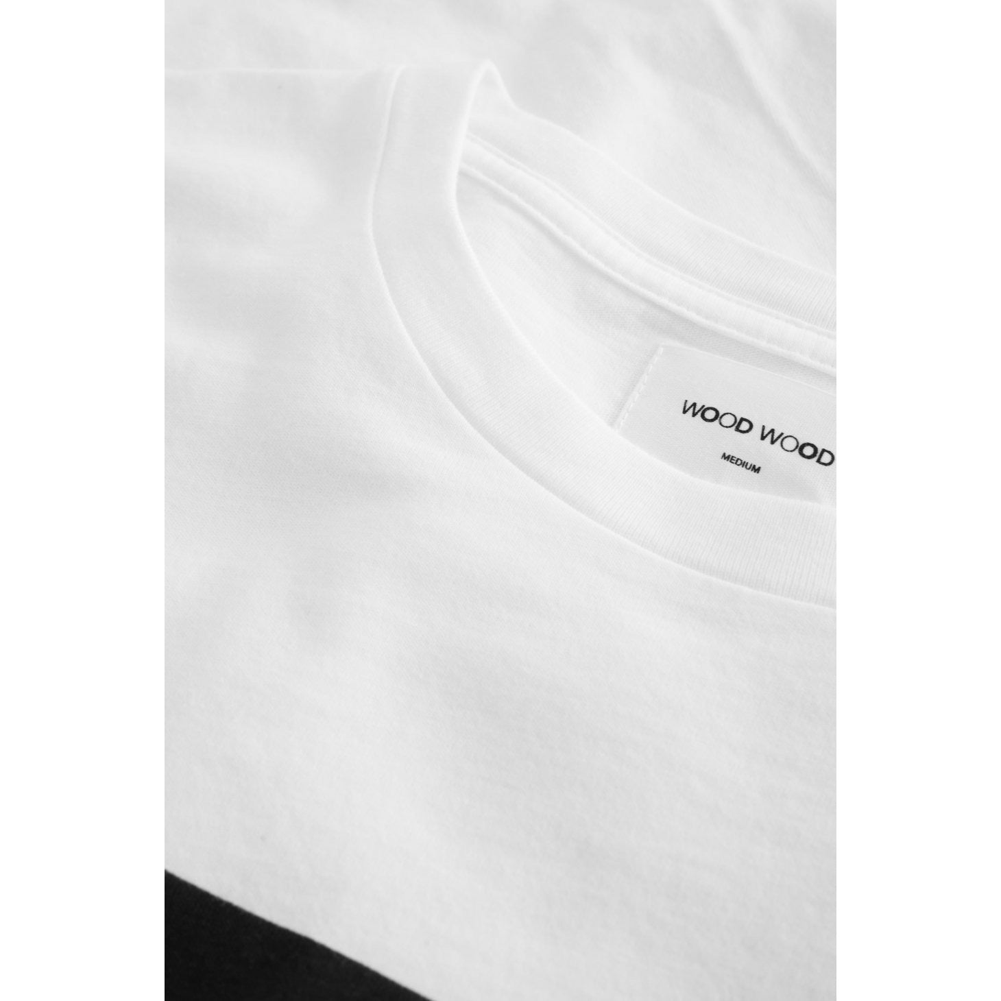 Wood Wood Square T-Shirt White