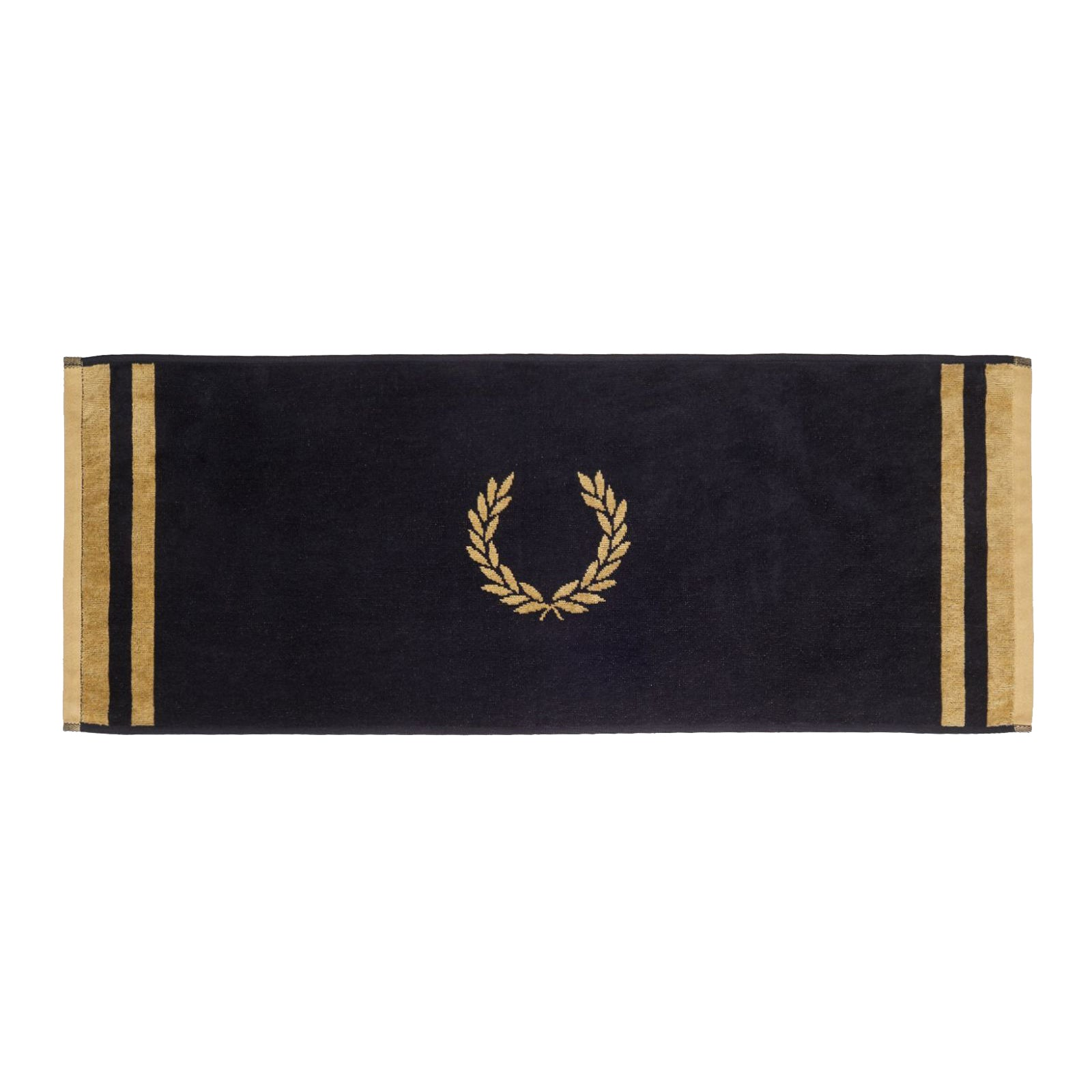 Fred Perry Handtuch, Black/Champagne