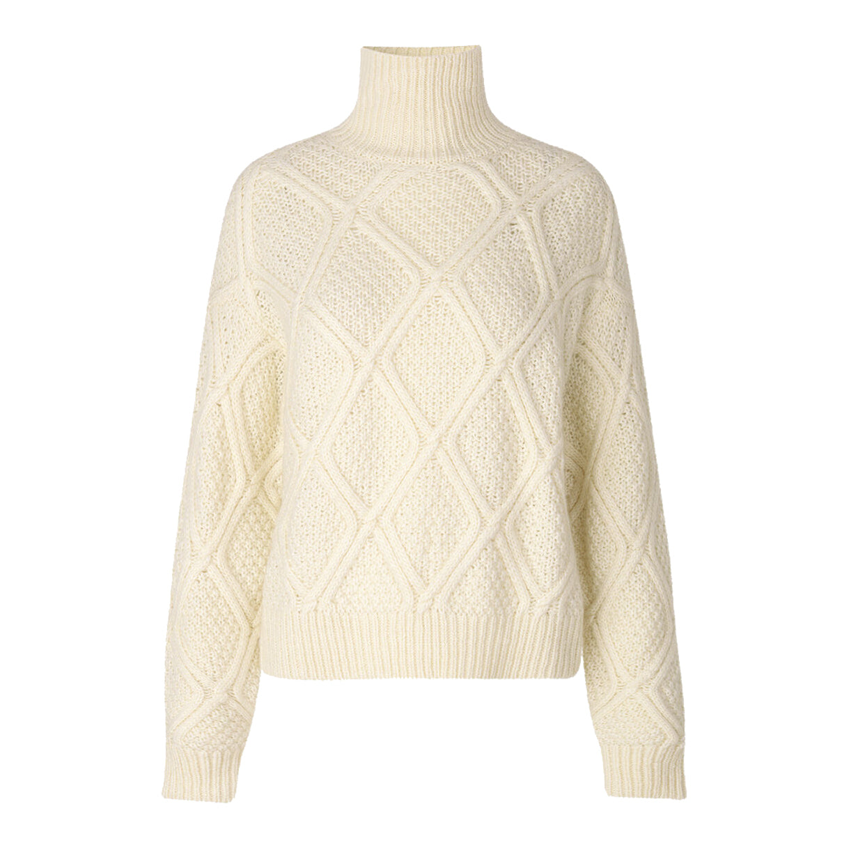 Samsoe Samsoe Bennie Turtleneck 11142, White