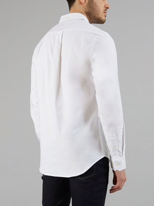Farah Brewer Slim Fit Shirt White