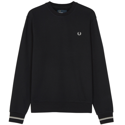 Fred Perry Crew Neck Sweatshirt, Black