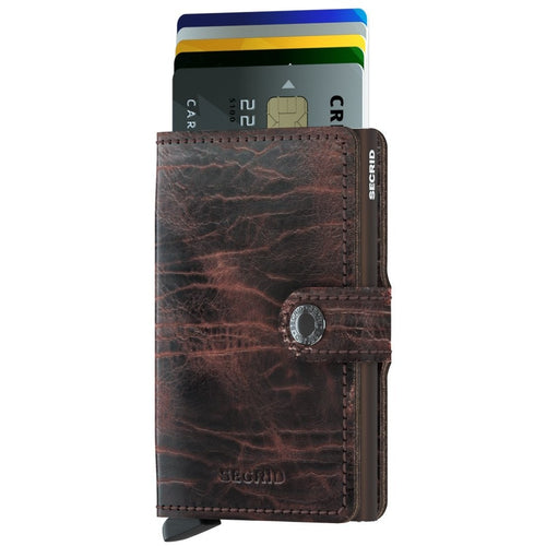 Secrid Miniwallet Dutch Martin, Cacao & Brown