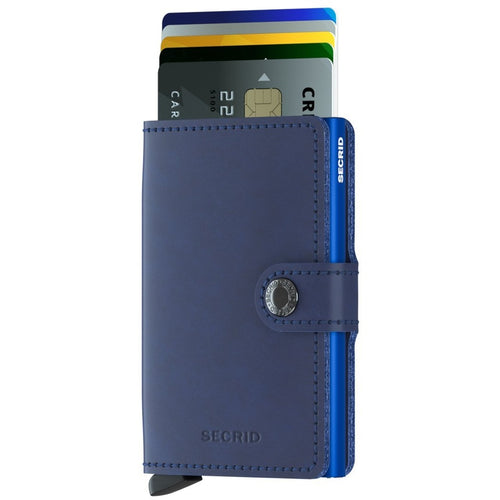 Secrid Miniwallet Original, Navy & Blue