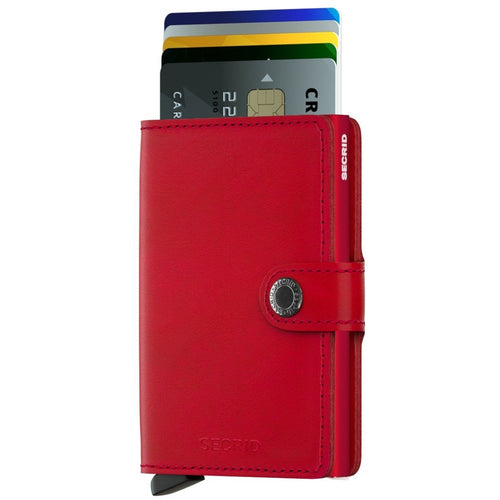 Secrid Miniwallet, Original Red - Red