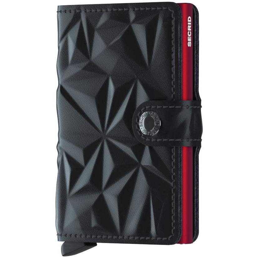 Secrid Miniwallet, Prism Black & Red