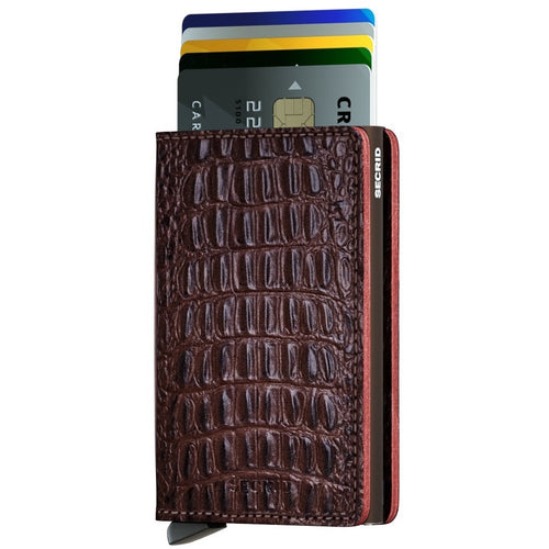 Secrid Slimwallet, Nile Brown