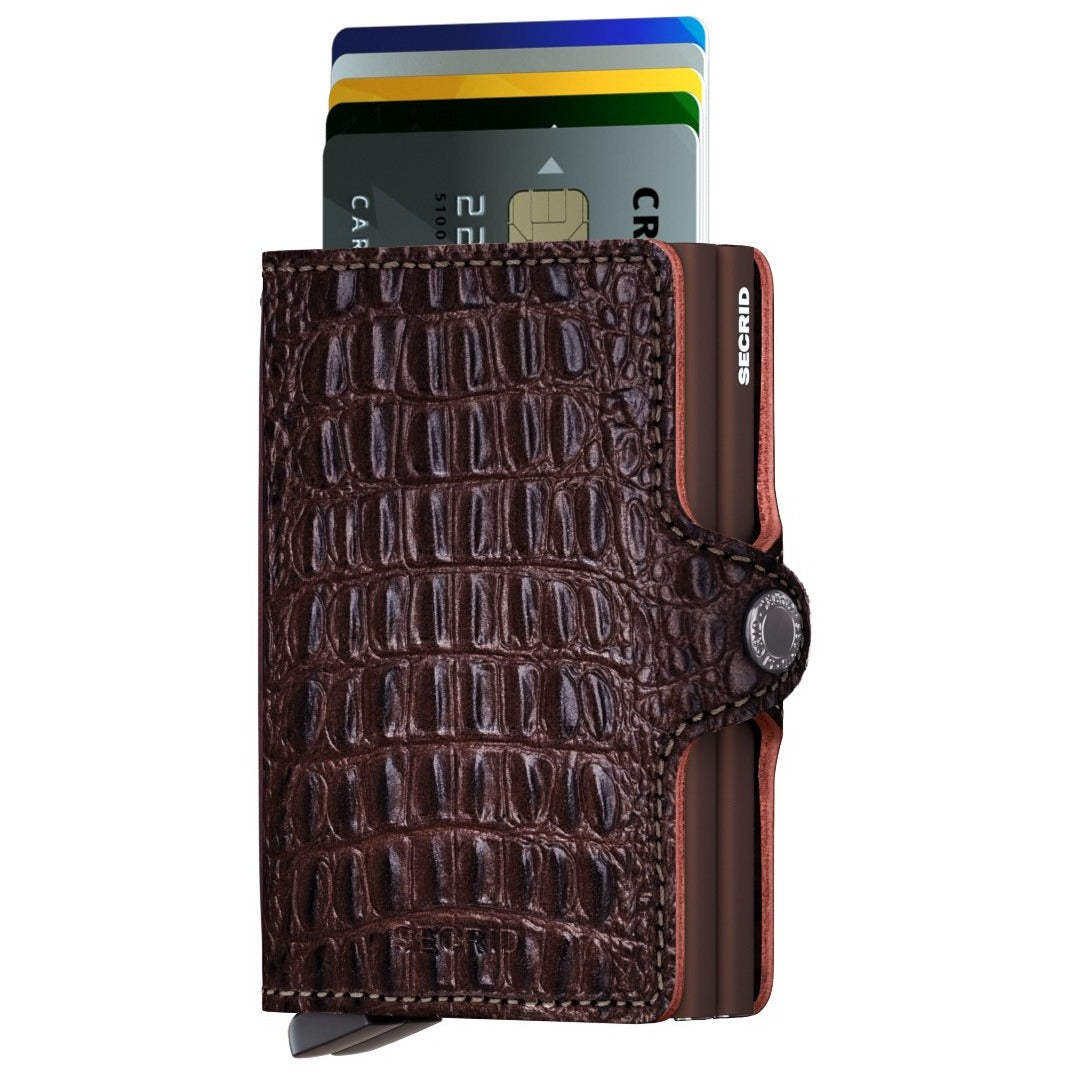 Secrid Twinwallet, Nile Brown