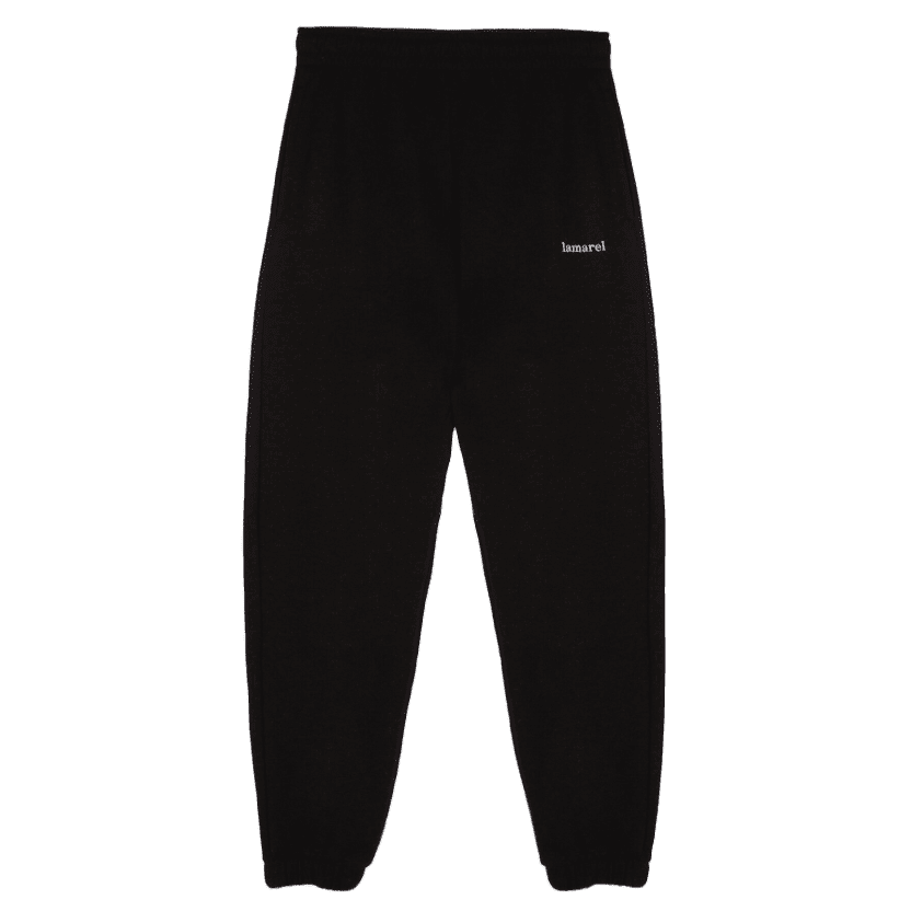 Lamarel Track Pants, Black