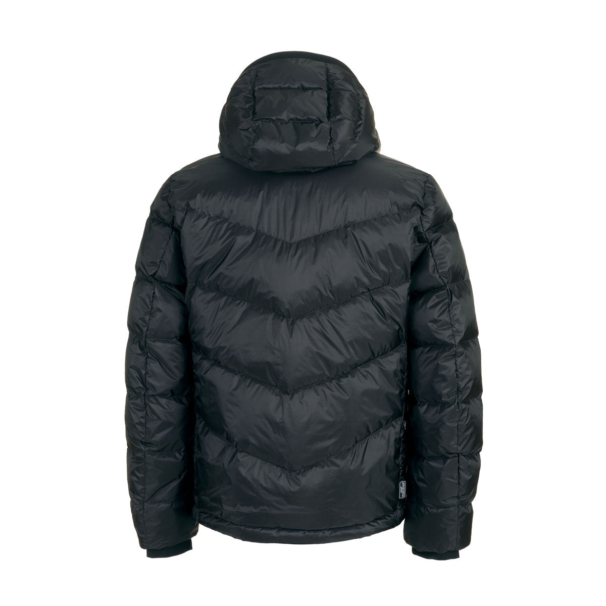 Woolrich Chevron Hooded Jacket, Black